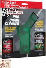 FINISH LINE PRO CHAIN CLEANER W/ 2OZ DRY LUBE AND 4OZ ECOTECH DEGREASER