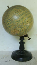 "Antique J Forest (Paris) 65,000,000 Terrestre Globe,  8""  *"
