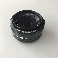 NIKON EL-NIKKOR 50mm f4 Enlarger Lens 'MINT + BOXED'