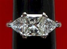 5.40 TCW Swarovski Princess & Trillion Diamond Rings - Plus FREE Cancun Vacation