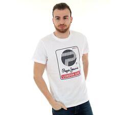 Pepe Jeans Hombre Camiseta corta Cuello redondo 22316