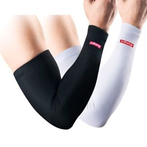 Elastic Arm Support Compression Arm Warmers Cycling Gym Basketball Football