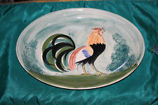 Oxney Green England Rooster Chicken Serving Platter-Steve Duffy Design-#2