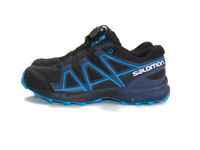 Salomon Men's Size 5 US D Black Blue Speedcross J Trail Running Athletic Shoes