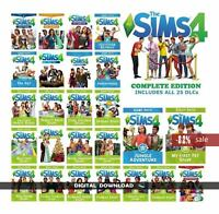 The Sims 4 : DELUXE EDITION ALL EXPANSIONS  PC (Instant Download)