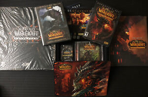 Open World of Warcraft: CATACLYSM COMPLETE Collectors Edition Loot Card Removed