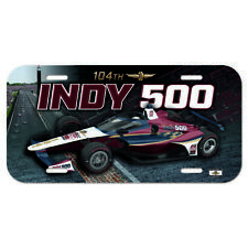 2020 Indianapolis 500 104TH Running Event Collector License Plate