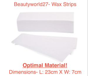 High Quality Professional Paper Wax Strip- Non-Woven- 100 Strips Pack