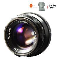 7artisans 35mm F1.2 Manual Focus Lens For Canon EOS-M Mount M1 M2 M3 M5 M6 M10