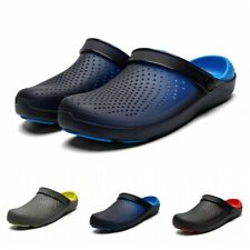 Sandals Shoes Mens Holes Breathable Clogs Sport Outdoor Beach Slippers Slip On B