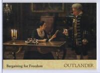 Outlander Season 2 Gold Jacobite Seal Base Card #43 The Old Fox