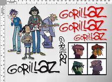 *1 set Gorillaz British virtual music band decal vinyl sticker die cut macbook