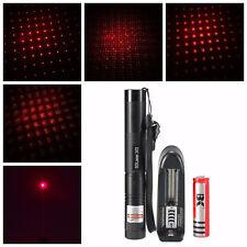 Puntero Laser Rojo Con Batería Y Cargador 1MW Plus claves de seguridad
