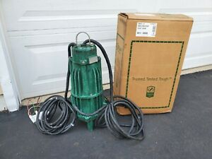 """Zoeller 841-0008 G841 """"Shark"""" Single Directional Grinder Pump 2 HP 460V 3PH"""
