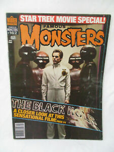 Vintage FAMOUS MONSTERS Magazine # 162 Apr 1980 The Black Hole