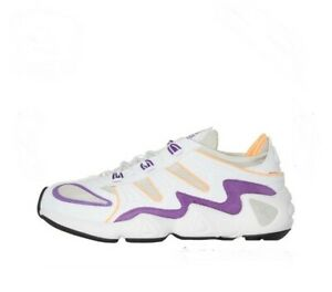adidas Originals Mens FYW S-97 Trainers Crystal White/Flash Orange UK 8