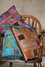 Patchwork Square Ethnic Decorative Cushions