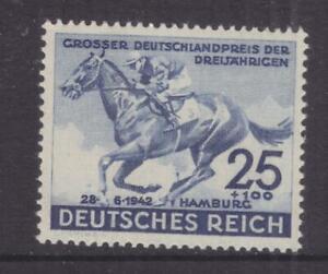 GERMANY, 1942 Hamburg Derby 25pf.+100pf., lhm.
