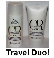 Wella Oil Reflection Luminous Reveal Shampoo 1.7 oz & Conditioner 1 oz. Duo Set