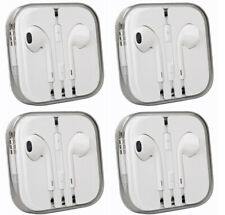 4X Headphones Earphones Mic Volume for Phone and Tablets 4 Conductor TRRS 1M 4pc