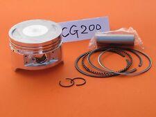 Piston 63.5mm Rings Wrist Pin Clip Honda CG200 Zongshen