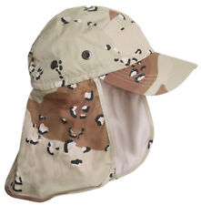 Top Headwear Vacationer Flap Hat With Full Neck Cover - Desert Camo (Spots)