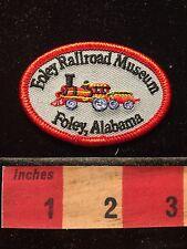 Alabama FOLEY RAILROAD MUSEUM Patch ~ Train 68EE