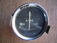 Lucas Amp Gauge 2 Inch Side illumination from an external source