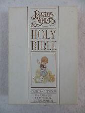 PRECIOUS MOMENTS HOLY BIBLE Catholic Edition Regina Press 1993