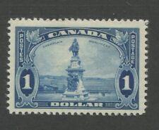 1935 Canada Stamp #227 Mint Hinged Original Gum Champlain Monument Quebec