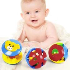 1 Set Cute Handbell Musical Developmental Toy Bed Bells Kids Baby Toys Rattle FT