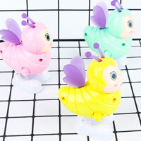 Cute Bee Shape Wind Up Toy Kids Early Educational Plastic Toy Color Random