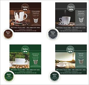 Cafe Tastle Single Serve Flavored Coffee, Keurig Compatible K-Cups & Coffee Pods