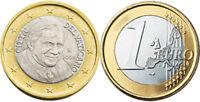 VATICANO MONETE IN EURO 2006 2007 2008 2009 FDC UNC