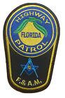 Florida Highway Patrol Masonic Society Patch.