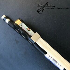 1/4 Carbon Fiber Cello Bow Natural Horsehair Sweet Sound Ship from USA