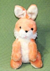 "Vintage Dayton Hudson PEACH BUNNY 17"" Target Rabbit PLUSH Stuffed Animal TAIWAN"