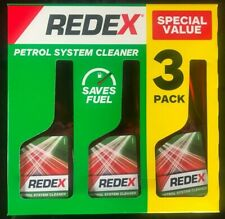 3 x pack 250ml Redex Petrol Treatment Fuel System Cleaner