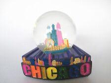 Chicago Snow Ball Sears Tower Hancock Snowglobe Souvenir (436)