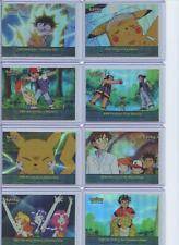 Topps Pokemon Series 2 Episode 25-Card Rainbow Foil Complete Set NM