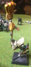 Warhammer - Lizardmen - METAL Temple Guard Standard (REF 1) Exc Free Post