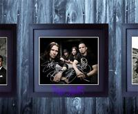 Alter Bridge SIGNED AUTOGRAPH FRAMED 10x8 REPRO PHOTO PRINT Kennedy Tremonti