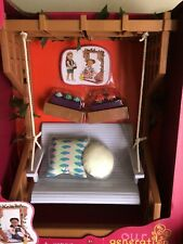 Girls Battat Our Generation 18� Doll Pergola Swing Set New In Box W/ Accessories