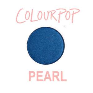 ColourPop Pressed Powder Eye Shadow Pan - TWO PIECE - pearl satin rich navy