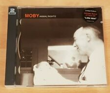 MOBY 'ANIMAL RIGHTS' - CD ALBUM WITH 'LITTLE IDIOT' BONUS CD