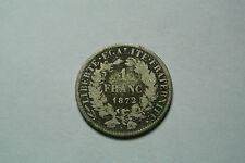 1 FRANC CERES 1872 A DU 50 CENTIMES