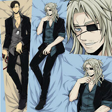 New Anime GANGSTA Warwick, The Blood Hunter Dakimakura Hugging Body Pillow Case