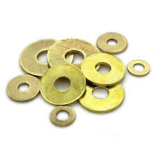M2~M20 High Quality New Brass Penny Repair Washers Washers Metric Flat Washers
