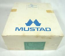 1000 MUSTAD FISHING HOOKS Boxed Jig Eyed # 1 Gold Plated Short Shank Ex STRONG