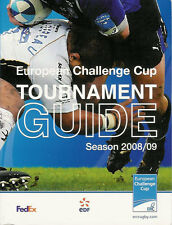 EUROPEAN CHALLENGE CUP RUGBY MEDIA GUIDE 2008/9